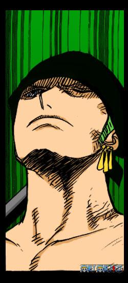 海贼王漫画上色图欣赏