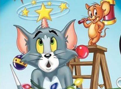 老鼠脚印卡通画