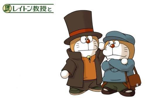 可爱哆啦A梦 cosplay其他动漫人物