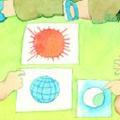 太阳月亮和地球