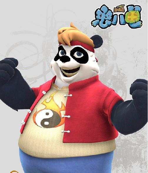 大的样子_憨八龟的故事人物介绍之宝宝熊-淘米视频