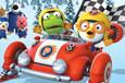 冰雪世界赛车冒险记