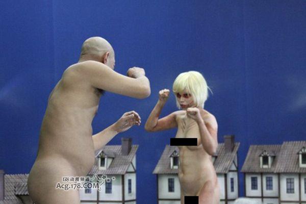 爱情 进击/超奇葩!「进击的巨人」爱情动作片女巨人全裸上阵