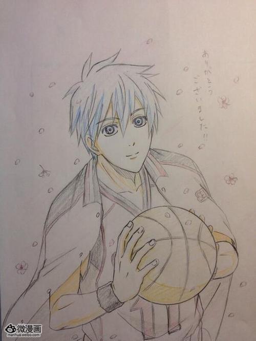 黑子的篮球 动画作画监督手绘同人插图