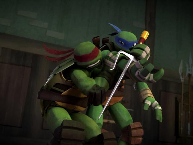 忍者神龟3D版第一季