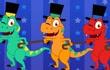 碰碰狐 英语恐龙儿歌第4集