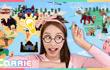 凯利和玩具朋友们 第120集 世界大型地图玩具