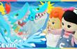 凯利和玩具朋友们 第277集 小心鲨鱼桌面游戏