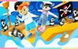 凯利和玩具朋友们 第356集 海盗VS海军拯救危船
