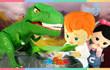 凯利和玩具朋友们 第363集 偷恐龙蛋挑战勇气