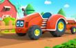 宝宝巴士汽车家族 第3集 农场里的拖拉机