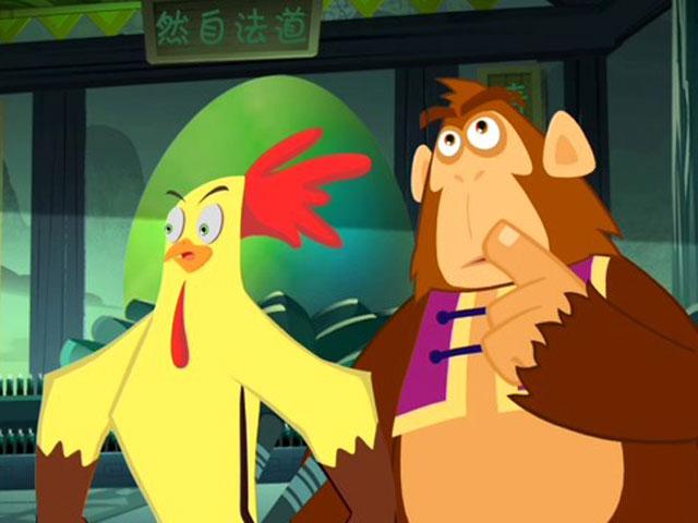 小鸡不好惹之咸蛋寺第18集
