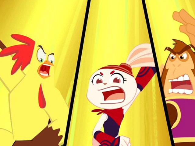 小鸡不好惹之咸蛋寺第9集